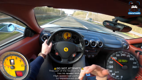 Ferrari F430 AutoTopNL