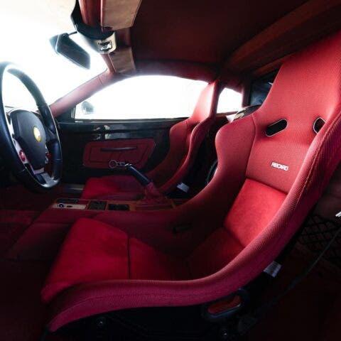 Ferrari F430 bianca mod