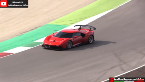 Ferrari P80/C Mugello