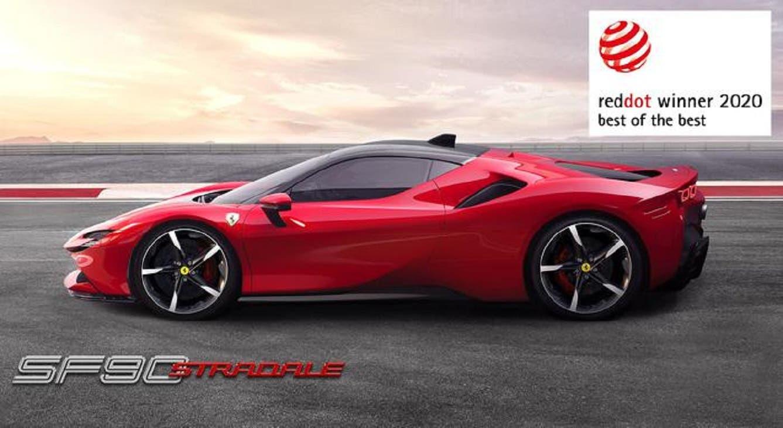 Ferrari SF90 Stradale Red Dot: Best of the Best Award