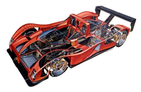 Ferrari 333 SP - 12