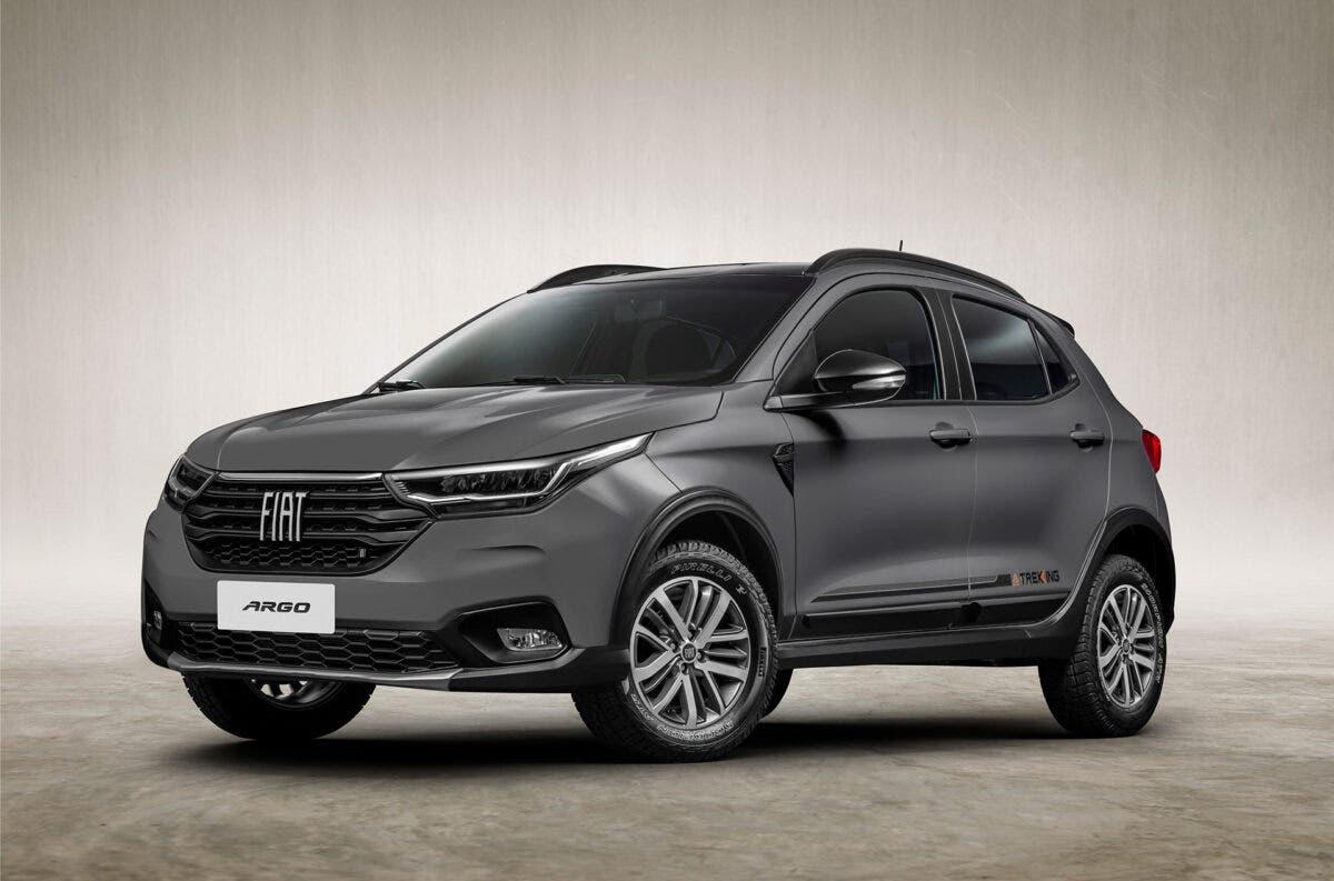Fiat Argo Trekking 2021 render