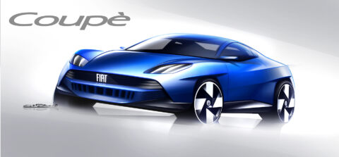 Fiat Coupé Tribute concept