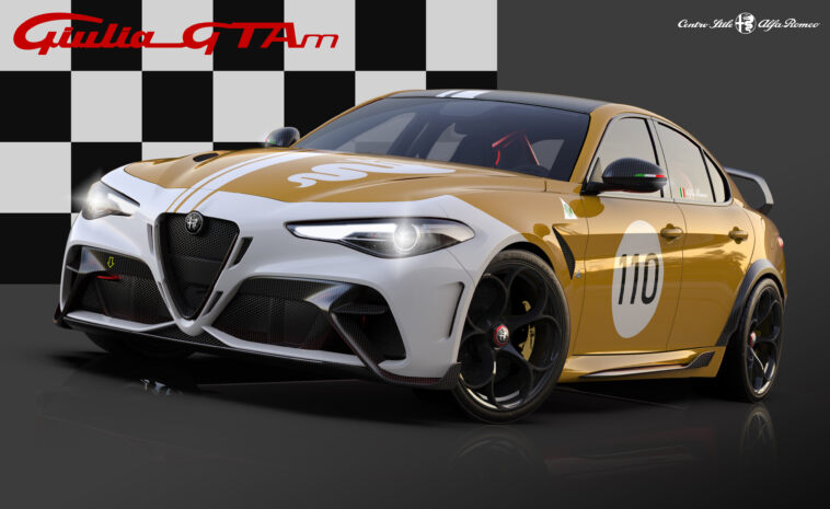Alfa Romeo Giulia GTA dedicated Livery
