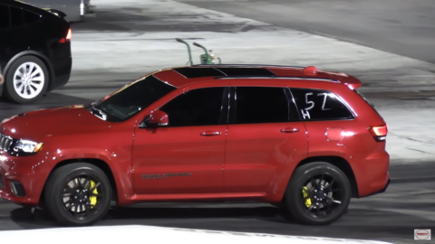 Jeep Grand Cherokee SRT vs Tesla Model X Wheels
