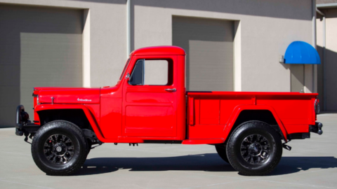 Jeep Willys pick-up asta