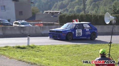 Lancia Delta HF Integrale 524 CV hill climb