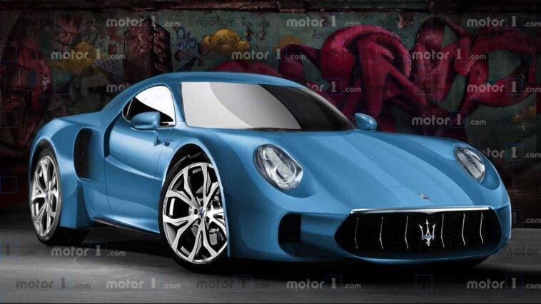 Maserati MC20 render Motor1