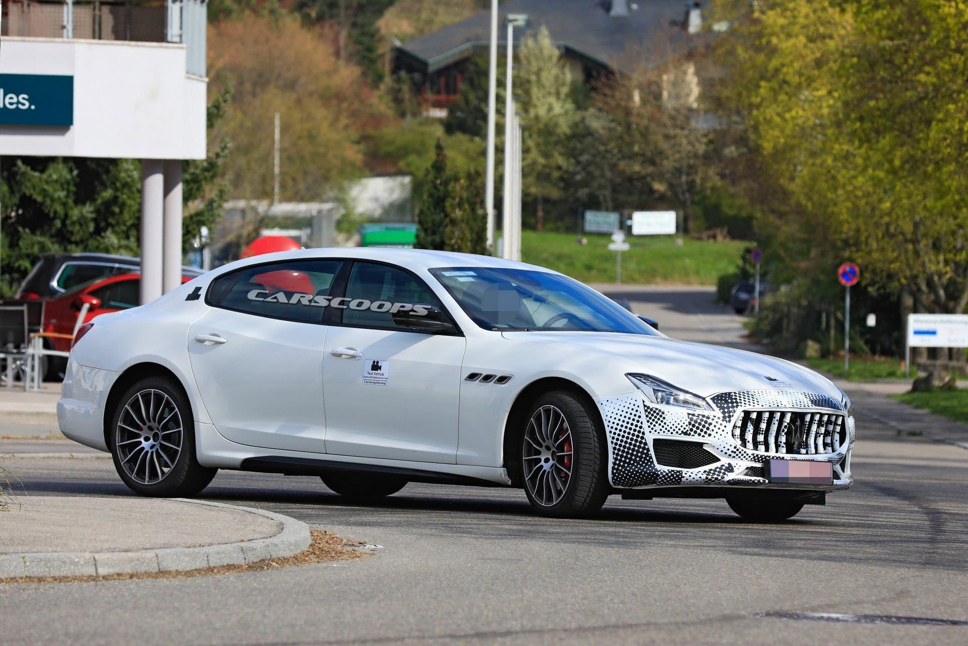 Maserati Quattroporte 2021: un nuovo prototipo avvistato ...