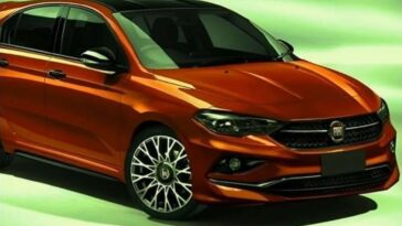 Nuova Fiat Tipo Cosches render