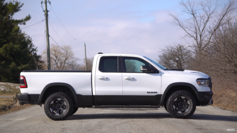 Ram 1500 Rebel EcoDiesel 2020 The Straight Pipes