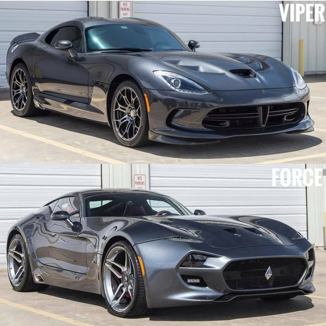 VLF Force 1 vs Dodge Viper