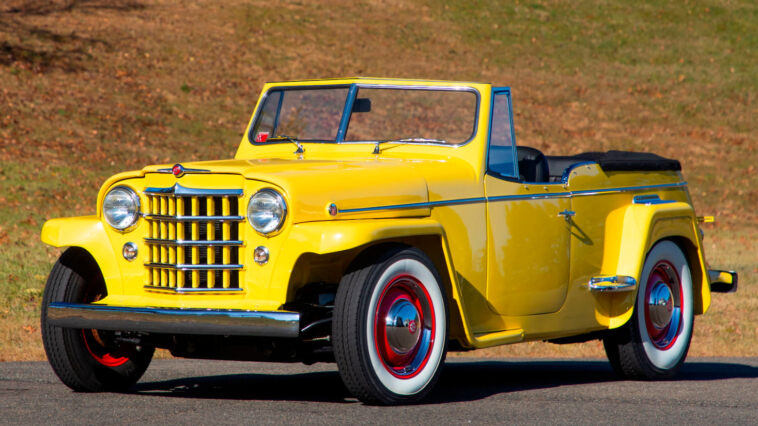 Willys Jeepster 1950 asta