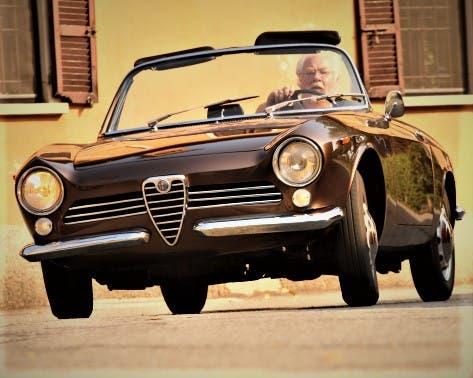 Alfa Romeo Giulia Spider Prototipo - 9