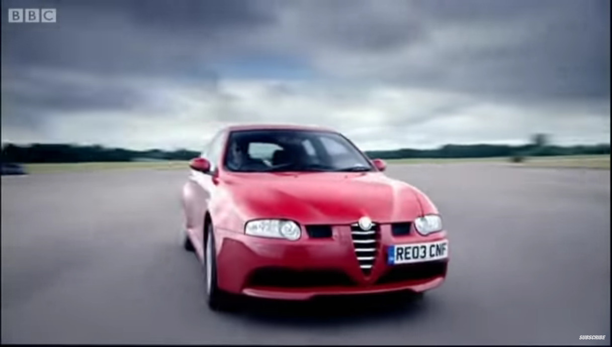 Alfa Romeo 147 GTA Top Gear
