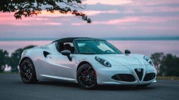 Alfa Romeo 4C Spider 2020 Nord America