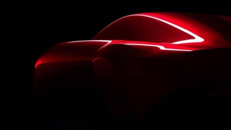 Alfa Romeo Berlinetta Aero teaser