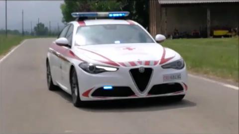 Alfa Romeo Giulia Croce Rossa Piacenza