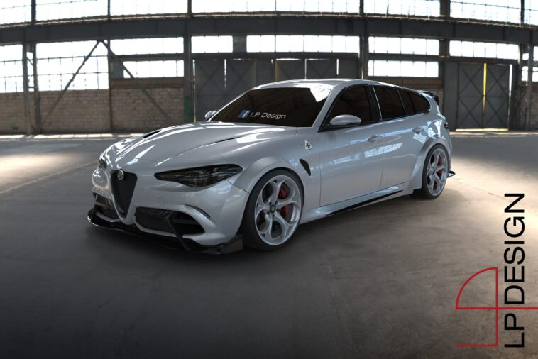 Alfa Romeo Giulia Sport Wagon GTA render
