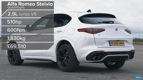 Alfa Romeo Stelvio Quadrifoglio Carwow