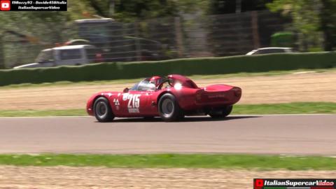 Alfa Romeo Tipo 33 Periscopica 1967 Imola