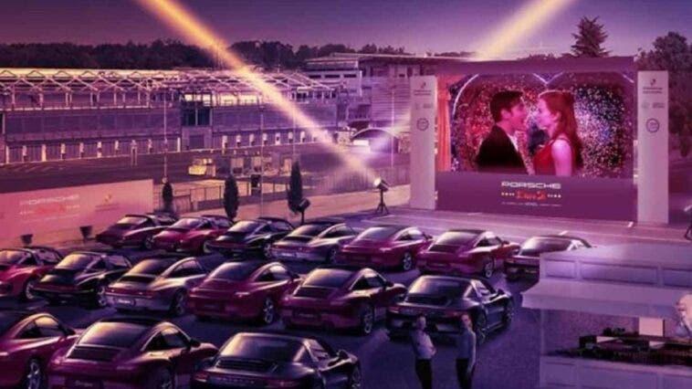 Autodromo di Monza cinema drive-in