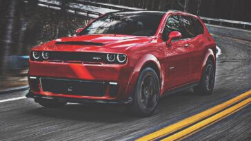 Dodge Challenger SUV render