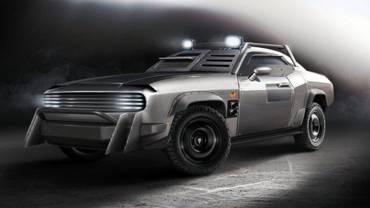 Dodge Challenger corazzata concept