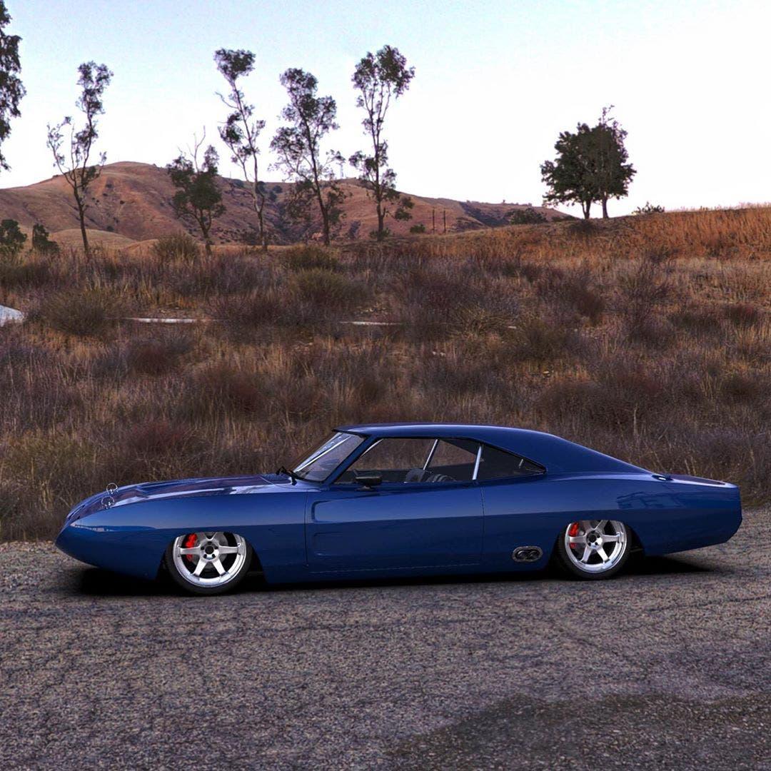 Dodge Charger Daytona moderna render