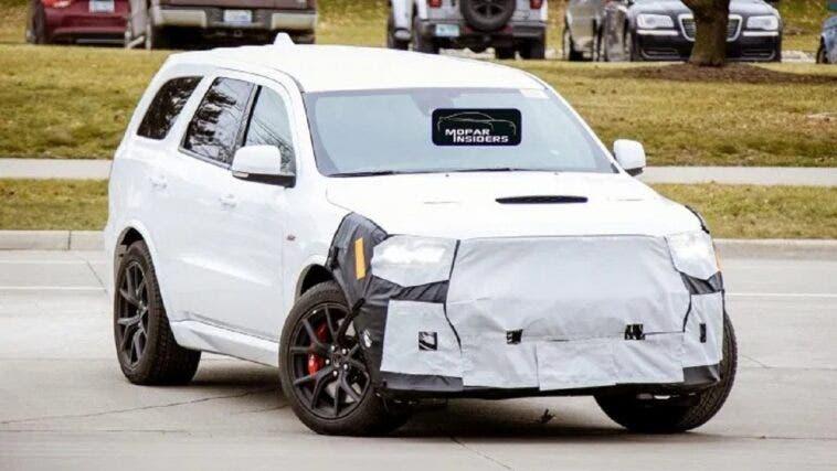 Dodge Durango SRT 2021 foto spia
