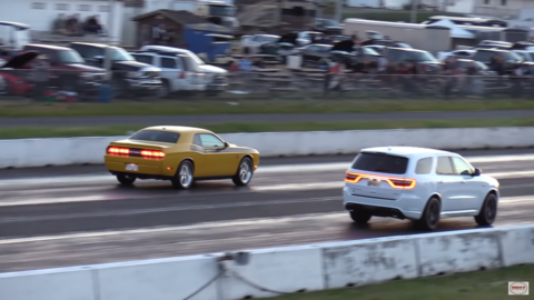 Dodge Durango SRT vs Dodge Challenger R/T Wheels