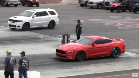 Dodge Durango SRT vs Ford Mustang GT Wheels