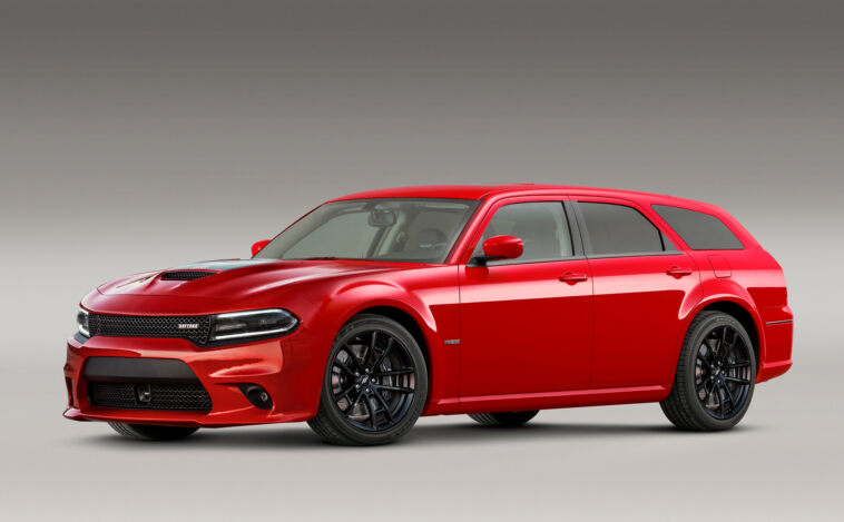 Dodge Magnum SRT Hellcat Widebody render