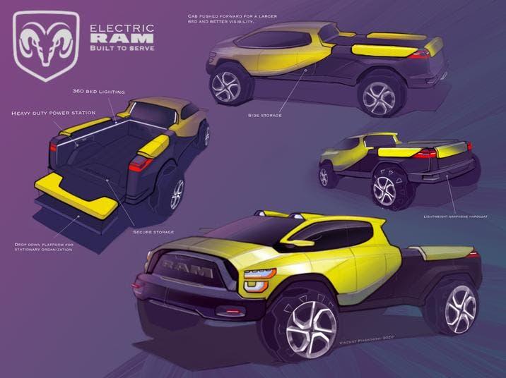 FCA Drive for Design Ram terzo posto