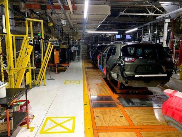 FCA misure sicurezza stabilimenti
