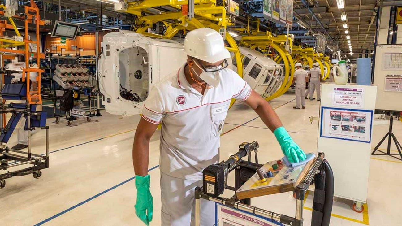 FCA riprende produzione Brasile