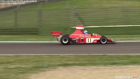 Ferrari 312 B3-74 video