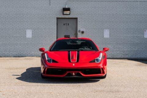 Ferrari 458 Speciale Aperta 2015 asta