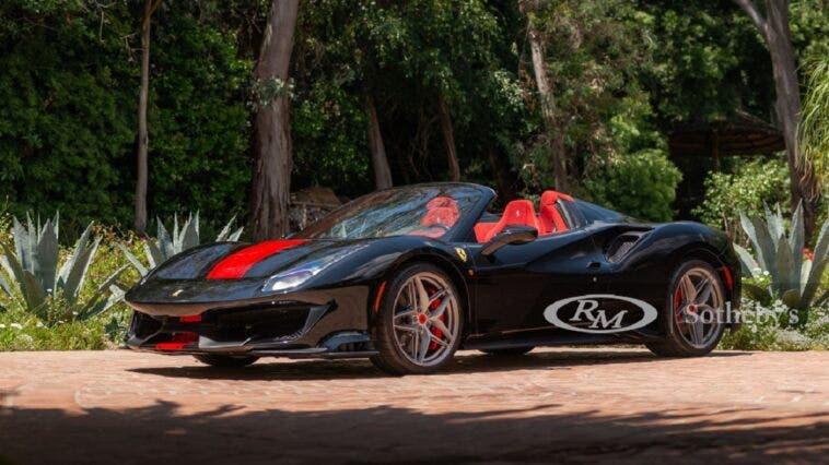 Ferrari 488 Pista Spider 2020 asta