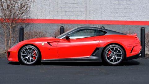 Ferrari 599 GTO Mecum Auctions Indy 2020