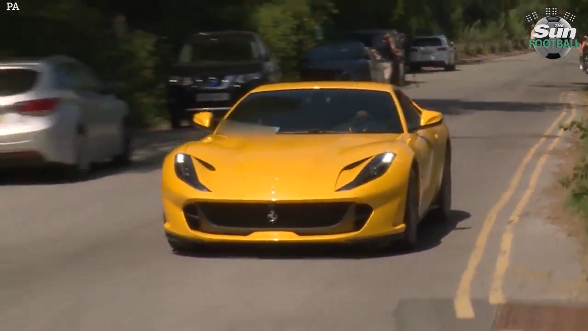 Ferrari 812 Superfast Paul Pogba