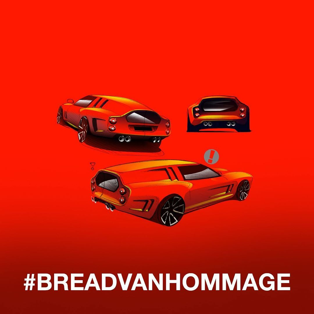 Ferrari Breadvan moderna