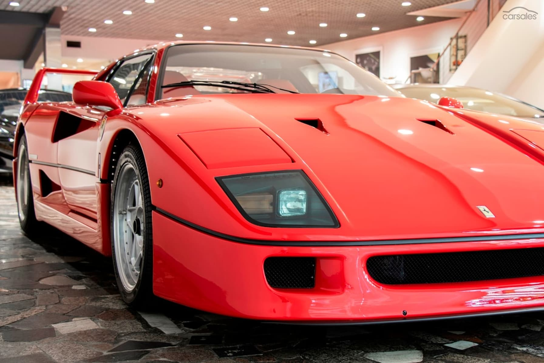 Ferrari F40 con soli 8900 km percorsi è in vendita in ...