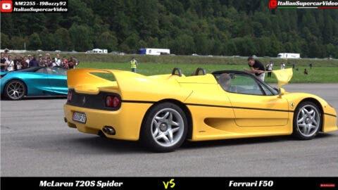 Ferrari F50 vs Bugatti EB 110 vs Lamborghini Diablo SV