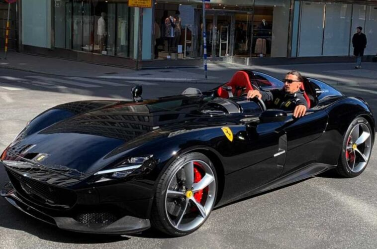 Ferrari Monza SP2 Zlatan Ibrahimovic