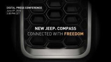 Jeep Compass 2021 teaser presentazione