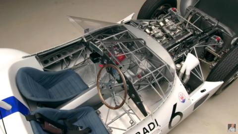 Maserati Tipo 61 Birdcage Jay Leno