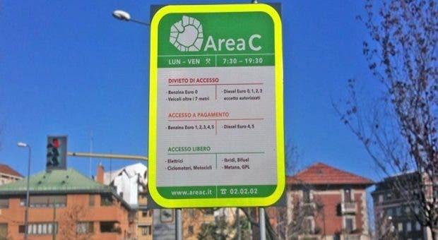 Milano sospese aree B e C