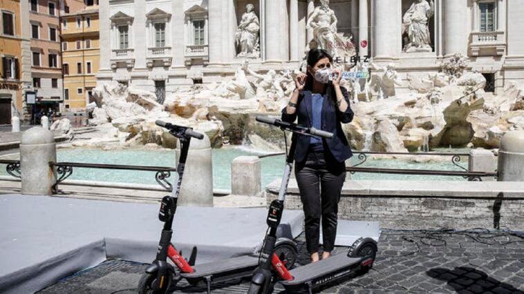 Monopattini elettrici Helbiz Roma
