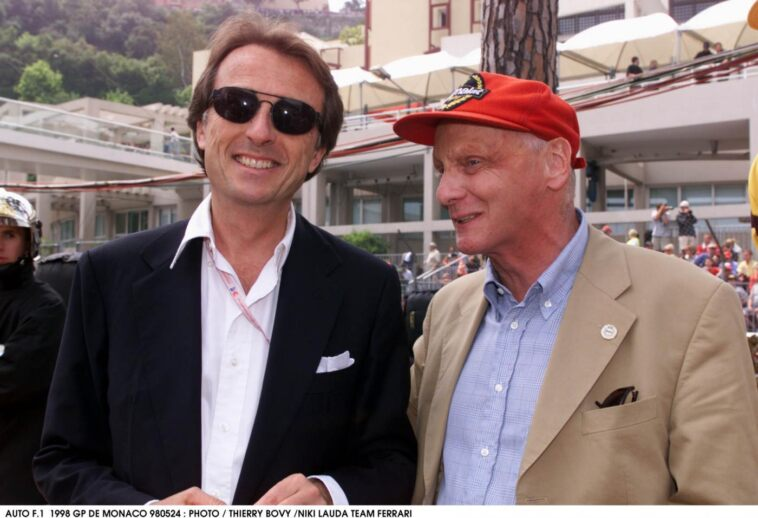 Montezemolo e Lauda